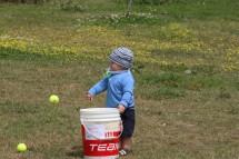 Jesse Meyer hat seine eigene Verwendung für Tennisbälle