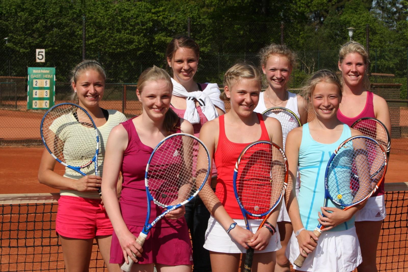 3. Damen-Team in Prisdorf