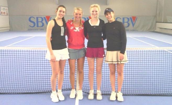 Isabell Lampe, Celine Kirst, Kimberly Körner, Katharina Brown