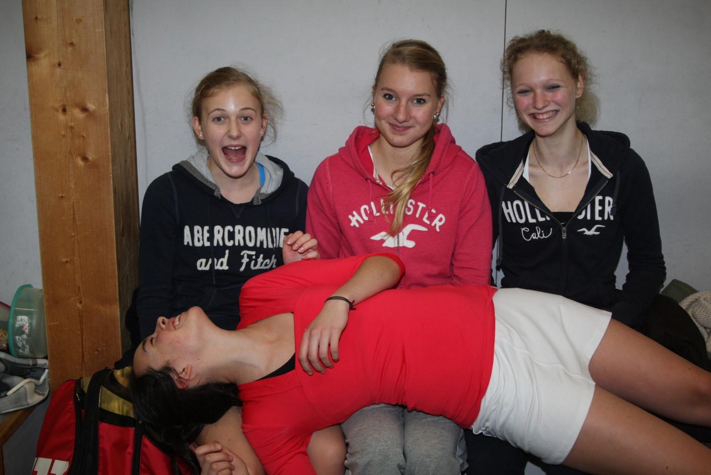 Merle, Celine, Kimmy, Isa