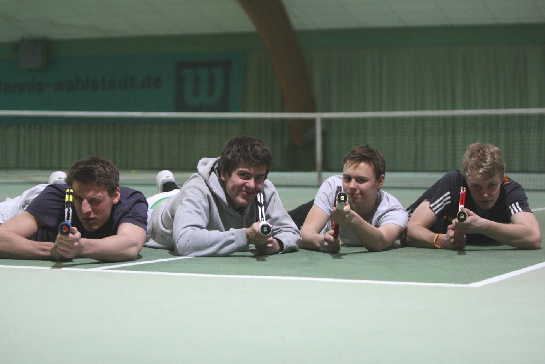 Max, Arne, Tim, Christian
